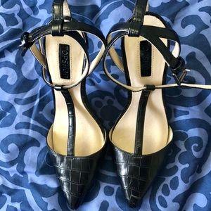 Topshop gorgeous metal-heeled stilettos!